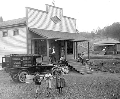 1925 Sayre Commissary - Bookmobile
