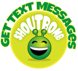 Shoutbomb - get text messages